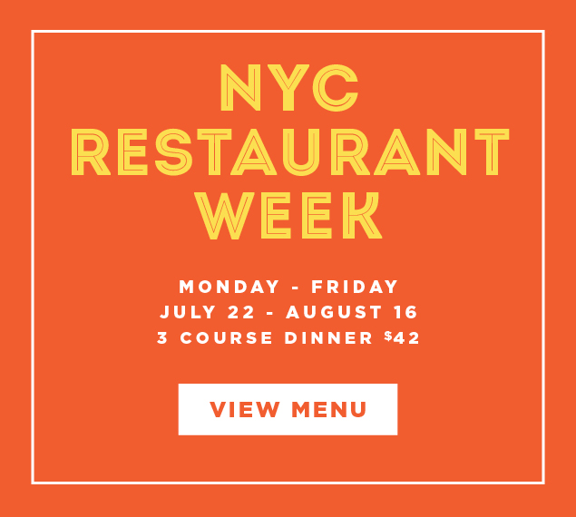 View Menu | NYC Restaurant Week | Monday-Friday, July 22-August 16 at Café Centro