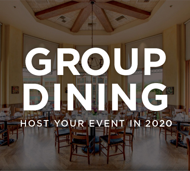 Group Dining | Host your next event in 2020