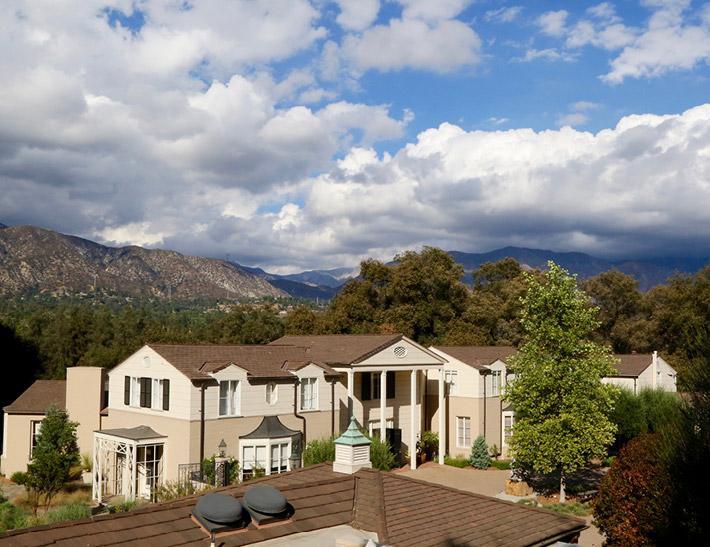 Boddy House indoor event space at Descanso Gardens in La Cañada Flintridge, CA