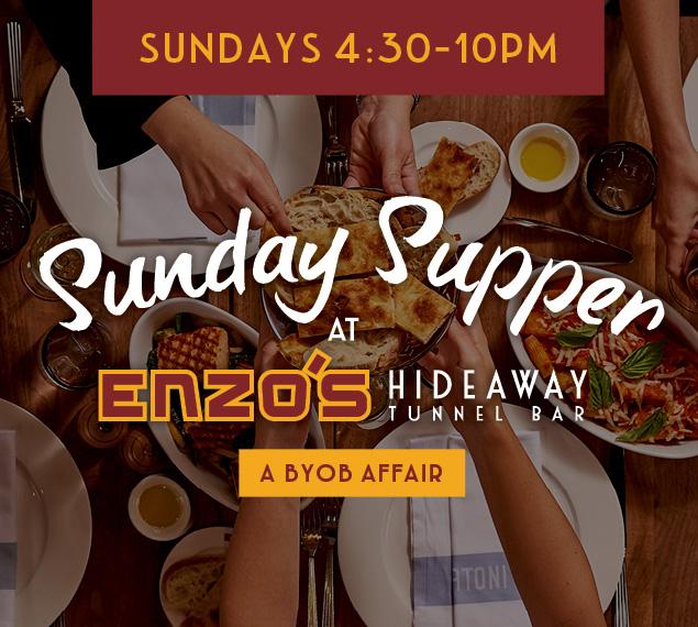 Sunday Supper | Sundays 4:30-10pm | Disney Springs Italian dining