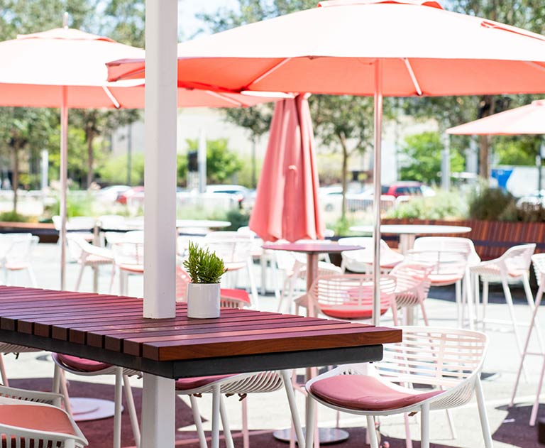 George's Cafe, Outdoor Patio, Segerstrom Center