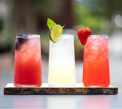 Cocktails, George's Cafe