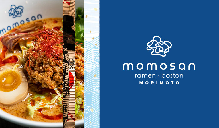 Tan Tan Ramen served at Momosan Ramen Boston at Hub Hall | Momosan Ramen Boston | Morimoto