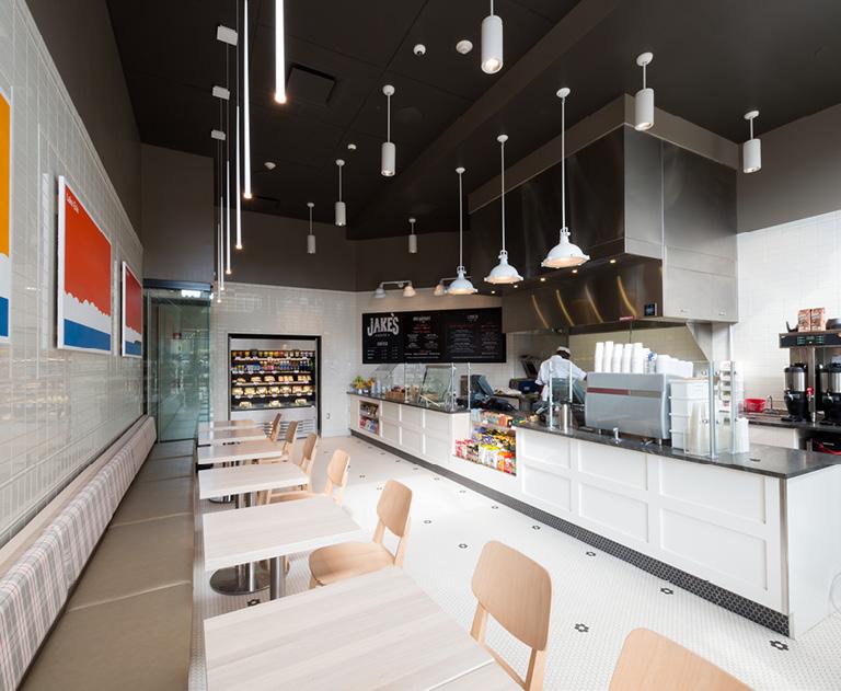 Downtown Buffalo coffeehouse