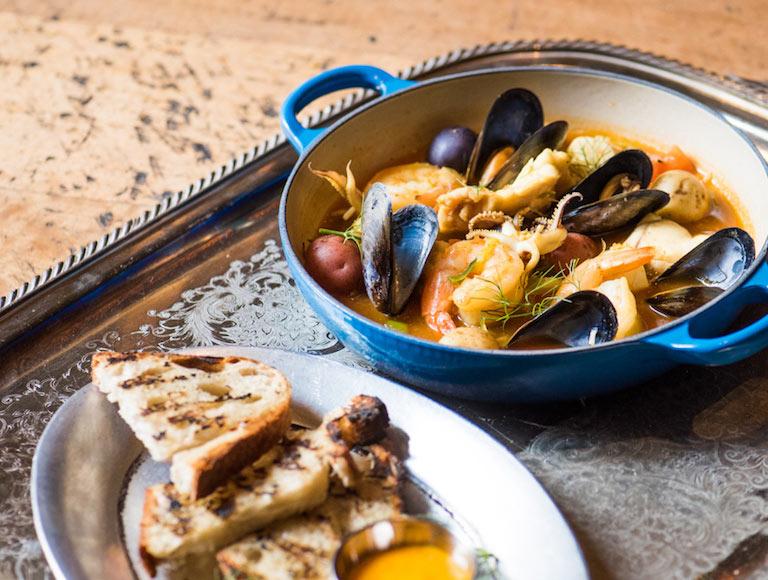 Mussels - French Brasserie DTLA