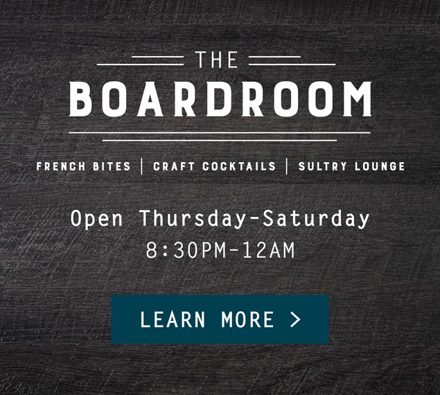 Learn More About The Boardroom Inside Kendall's