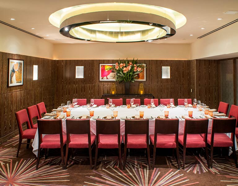 Private Dining Room, MetLife Building, New York City