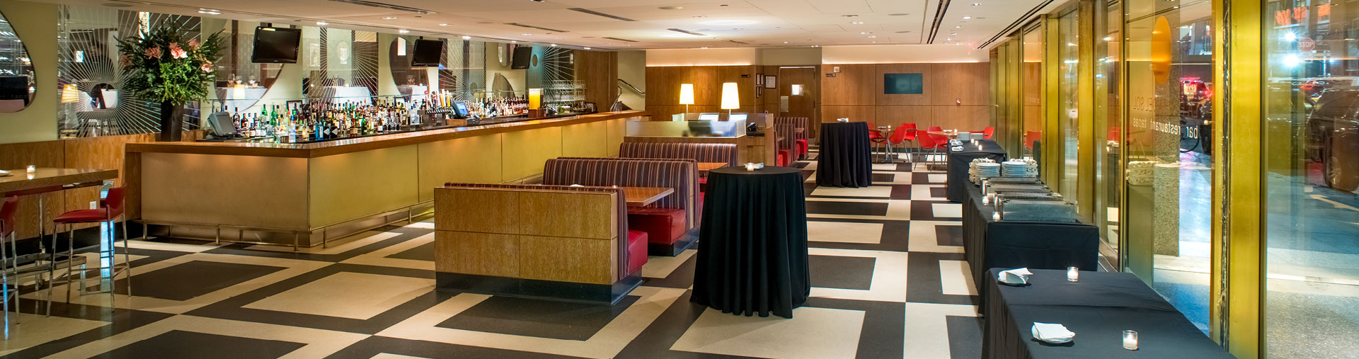 Tapas Lounge event space at La Fonda del Sol in NYC