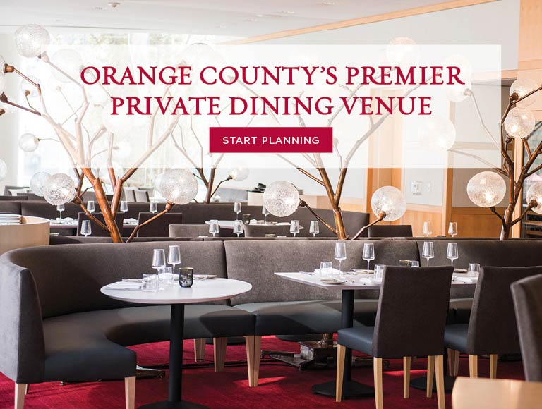 Start Planning Your Next Private Dining Event, Orange County