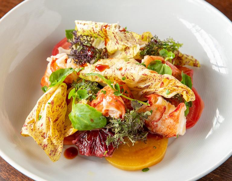 Crab Salad served at New York City's Lincoln Ristorante
