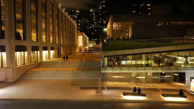 Exterior view of Lincoln Ristorante, NYC