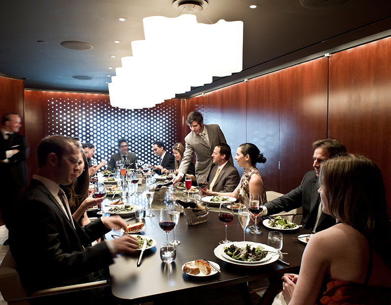 Private dining space at Lincoln Ristorante, perfect for special occasions!