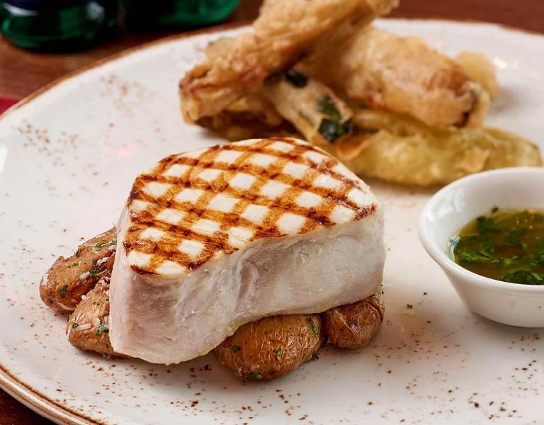 Pork Chops, Italian Eatery