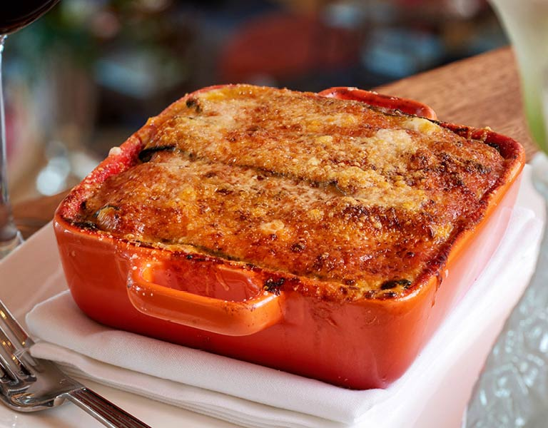 lasagna, Italian eatery Disney Springs