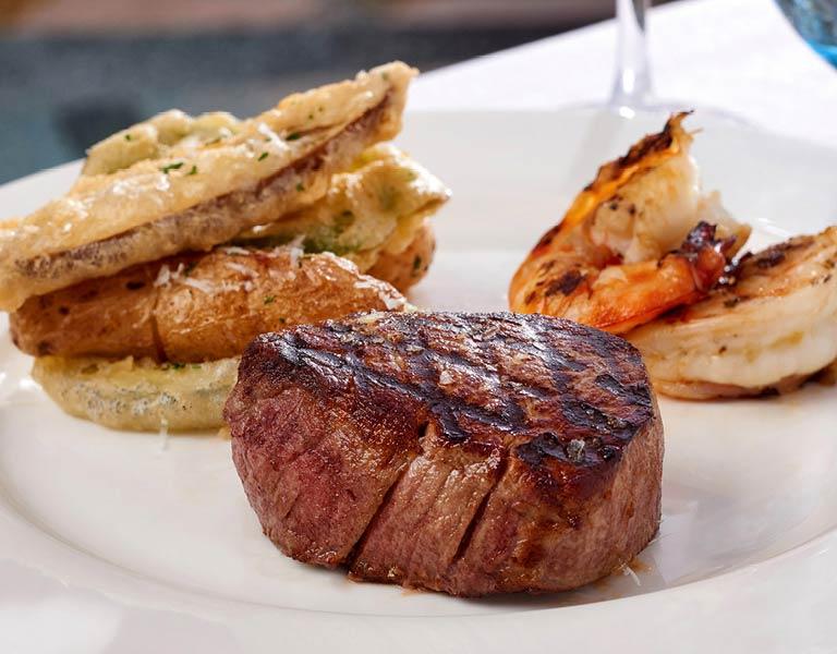 steak dinner, Disney Springs restaurant