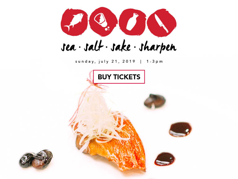 Buy Tickets | Sea. Salt. Sake. Sharpen. | Sunday, July 21, 2019 from 1-3PM at Morimoto Asia in Disney Springs