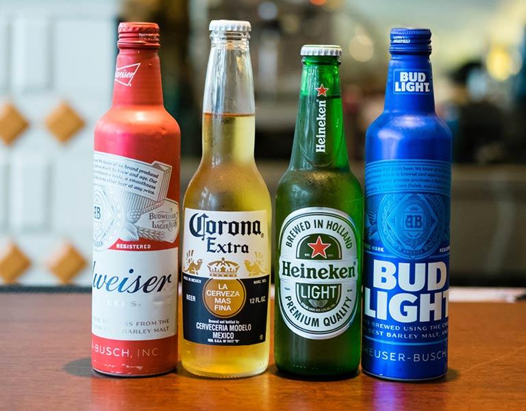 Bottles of Beer, MetLife Building Restaurant, NYC