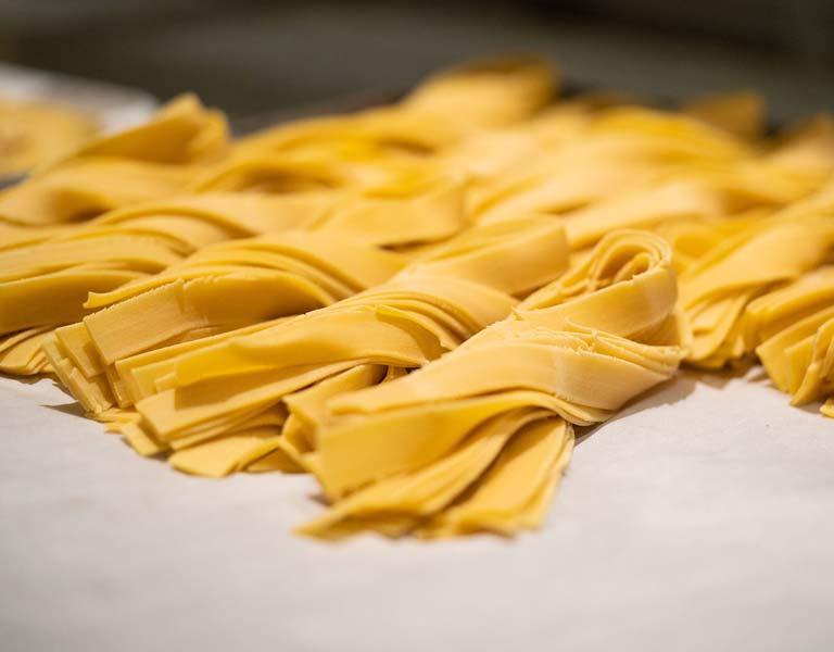 Fresh pasta, Italian dining, The MetLife Building, NYC