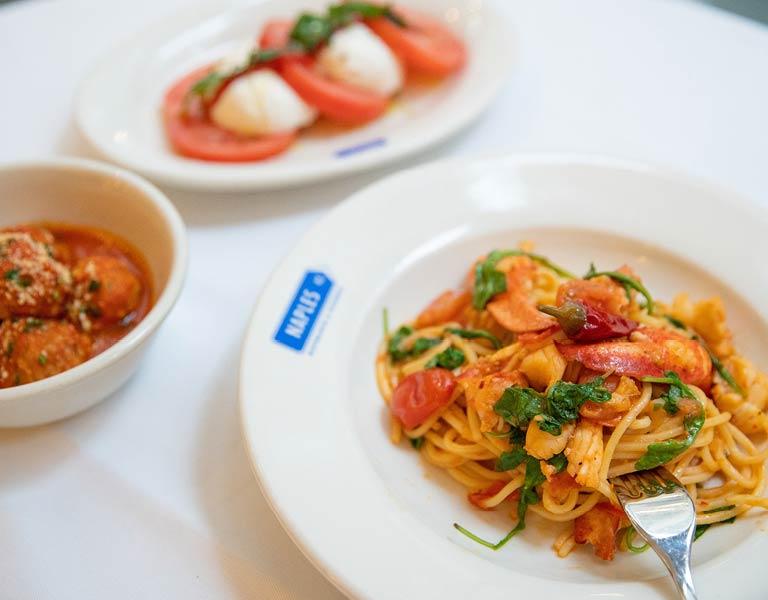 Fresh, handmade pasta, Italian restaurant, NYC