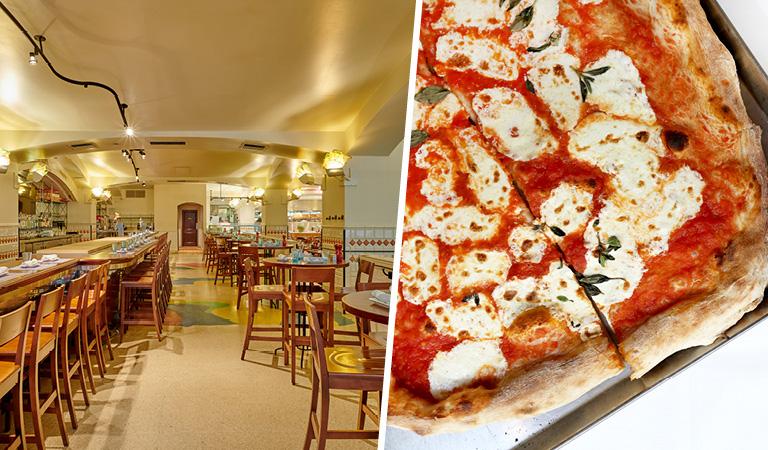 Bar and Pizza at Naples 45 Ristorante e Pizzeria   NYC Private Event Space
