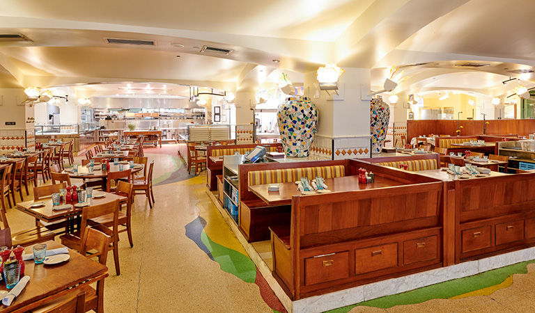Naples 45 Ristorante e Pizzeria Main Dining Area