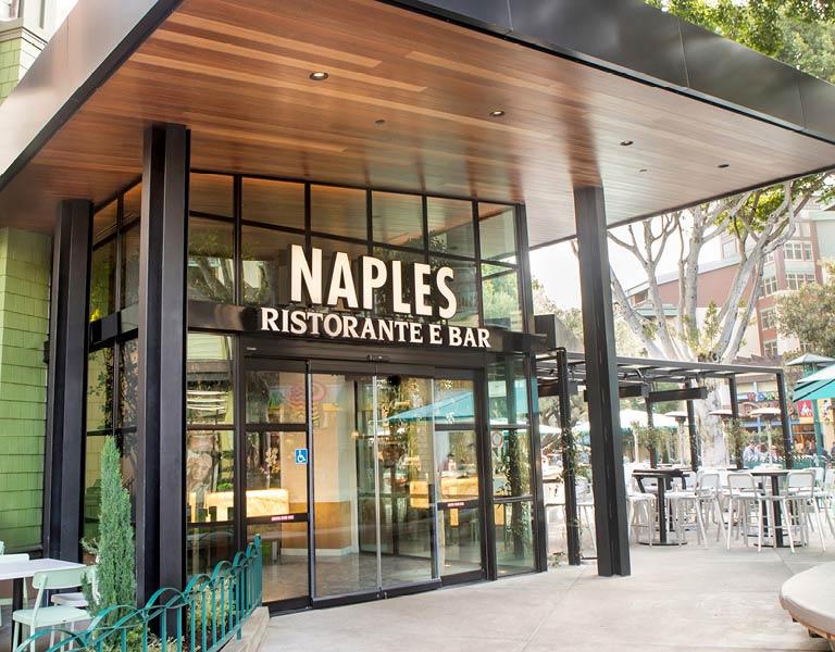 Naples Ristorante e Bar main entrance, Anaheim dining