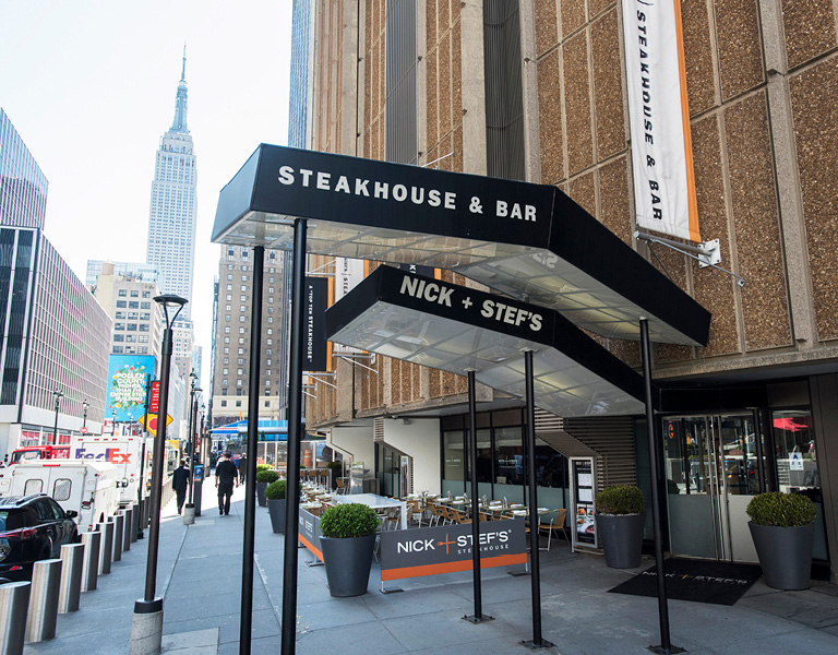 Steakhouse near Madison Square Garden, NYC