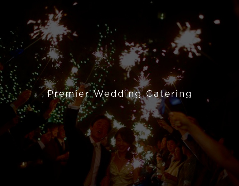 Premier wedding catering