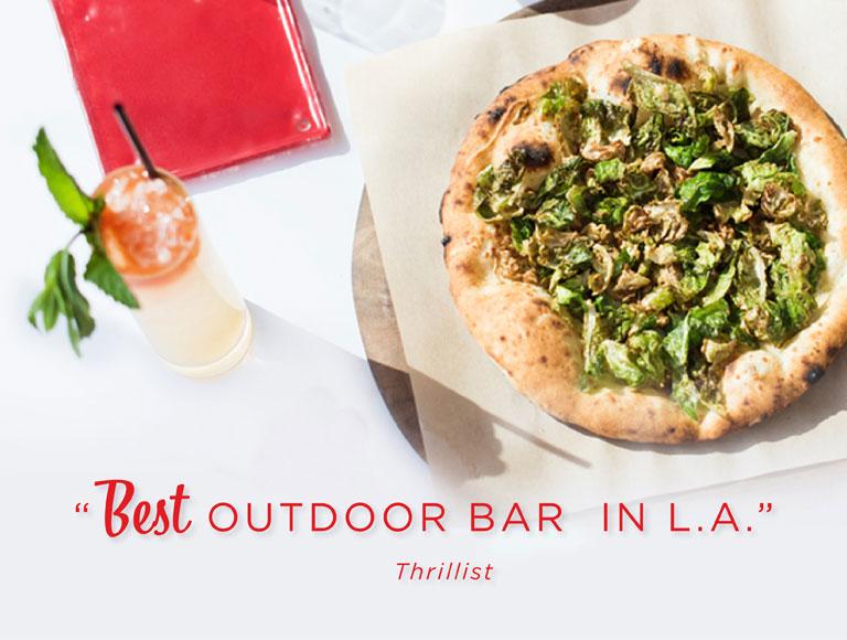 Outdoor Restaurant Los Angeles