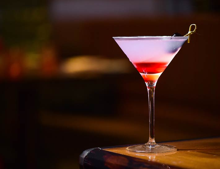 Martini Glass | Mixology Drink Competition STATE Grill & Bar