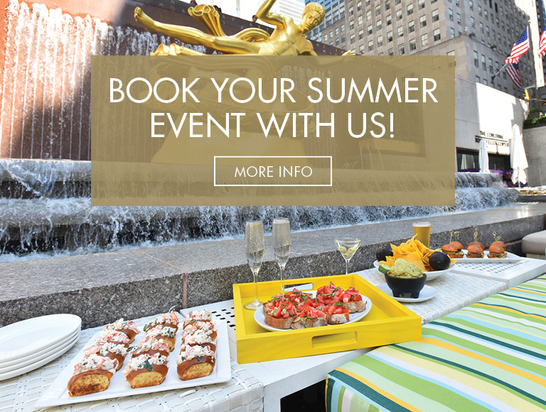 More Info | Book Your Summer Event With Us at Summer Garden & Bar in New York City