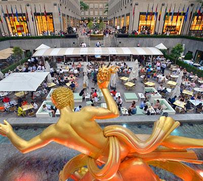 Rockefeller Center Restaurant