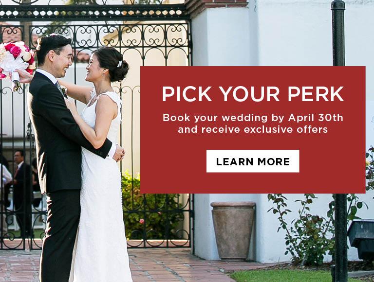 Pick Your Perk   Weddings at Tangata