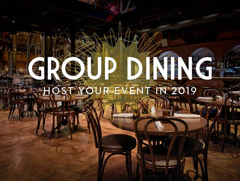 Host Your Event in 2019 at The Edison | Group Dining in Disney Springs