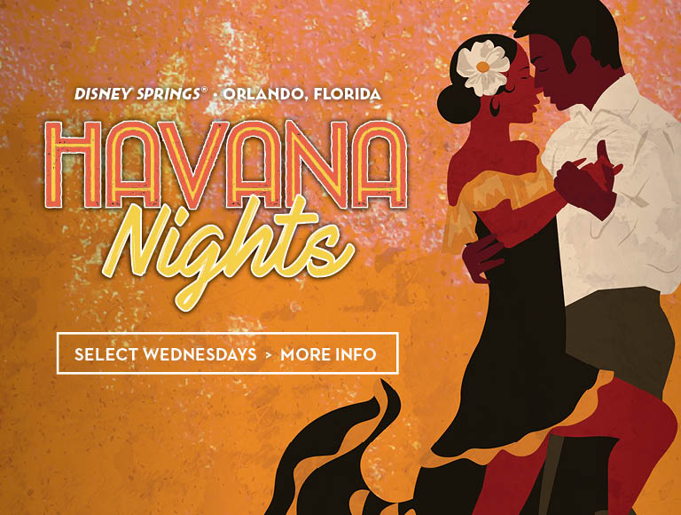 Havana Nights | The Edison | Disney Springs Restaurants