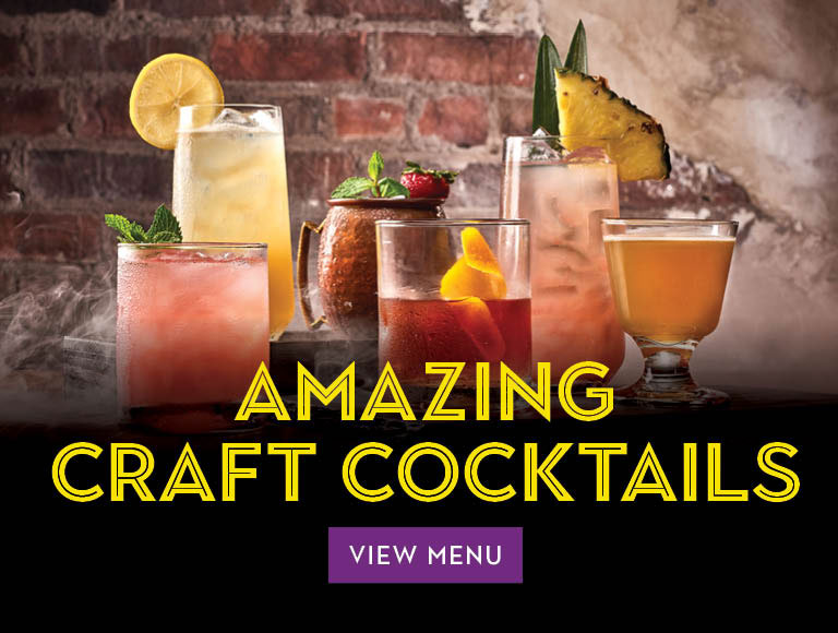 Amazing craft cocktails at The Edison