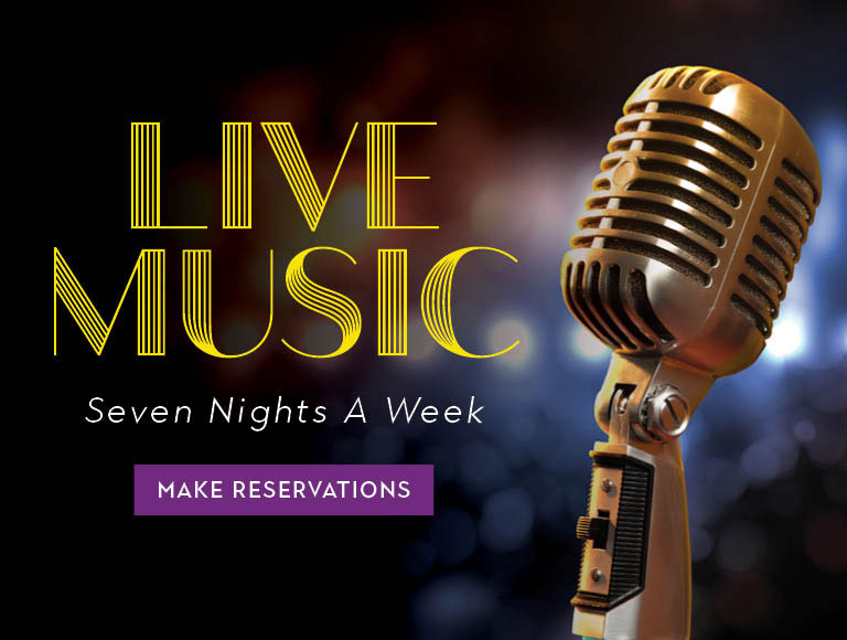Live music seven nights a week at The Edison