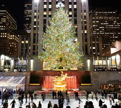 Ice Skating Rockefeller Center