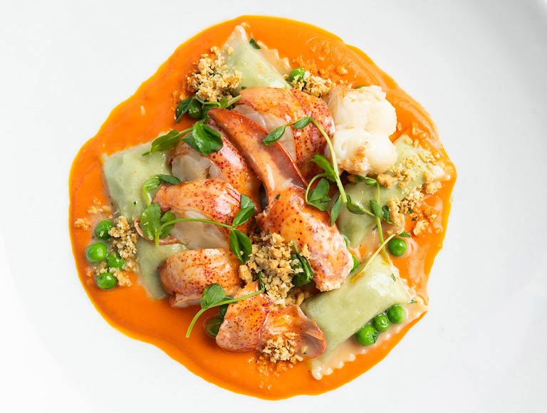 Lobster Spaetzle, Seafood Restaurant, NYC