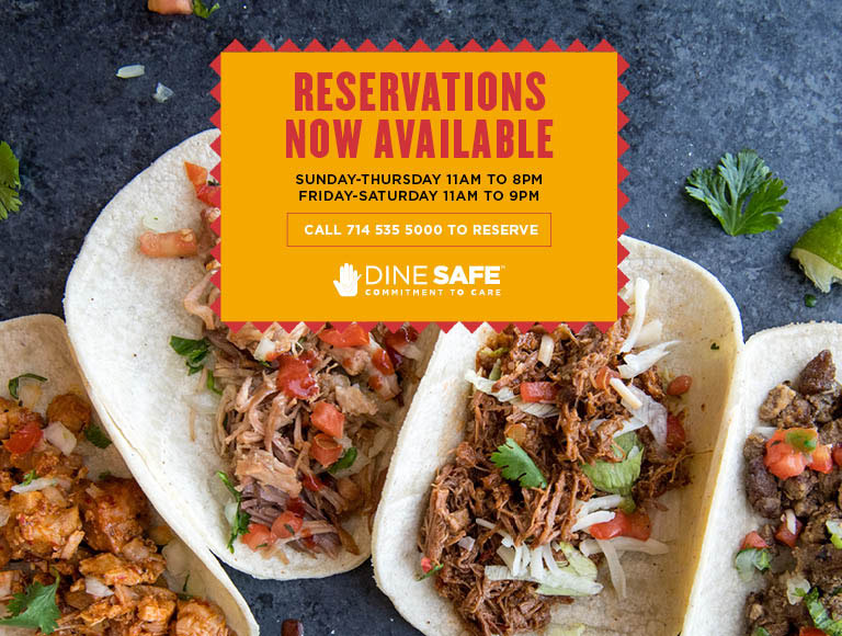 Reservations are now available at Tortilla Jo's