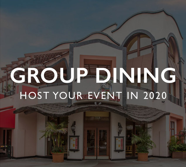 Group Dining | Host your event in 2020