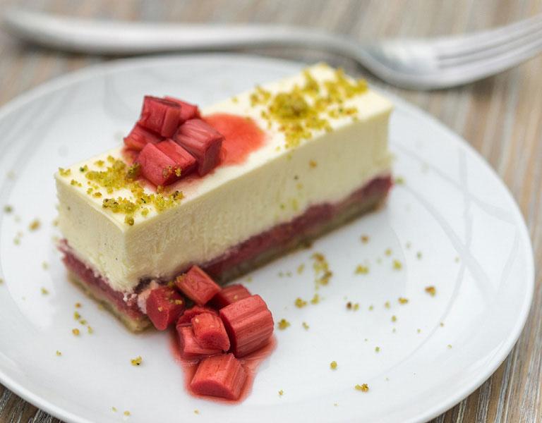 Cheesecake at Yellow Magnolia Cafe