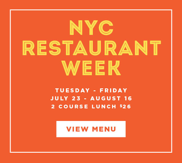 View Menu | NYC Restaurant Week | Tuesday-Friday, July 23-August 16 at Yellow Magnolia Cafe