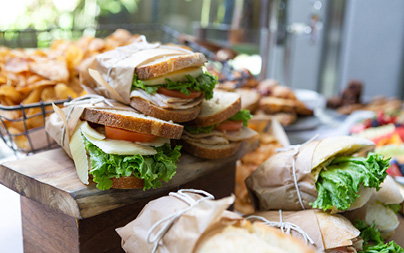 Sandwiches featuring fresh, locally sourced ingredients