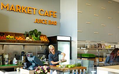 Market Cafe Westwood dining area