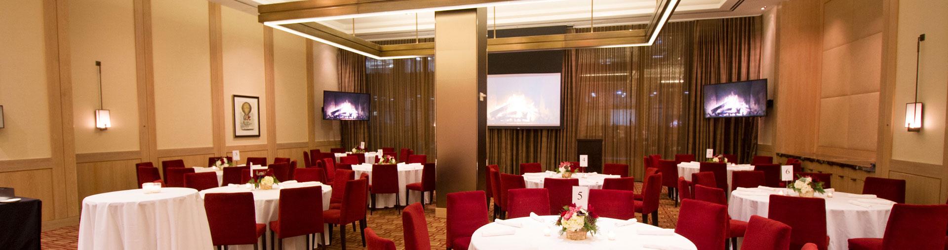 Vanderbilt Suites private event area