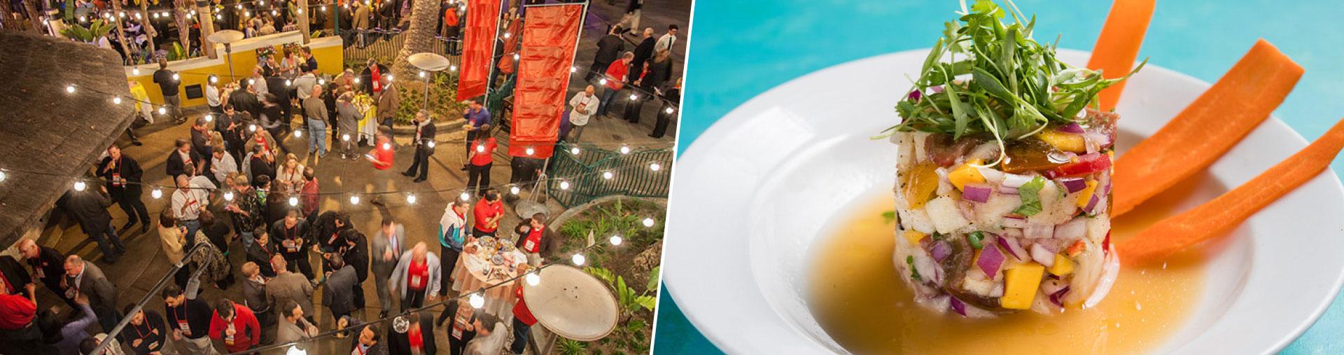 Tortilla Jo's private event space and ceviche