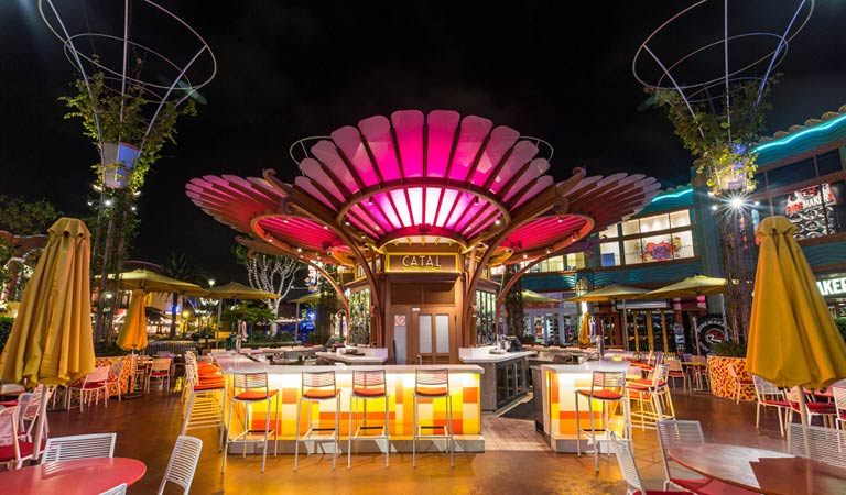 Catal Restaurant front entrance | Special Events at Downtown Disney District | Anaheim