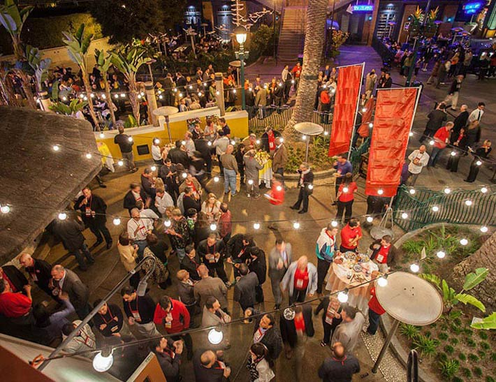 Tortilla Jo's Outdoor Patio | Event Entertaining at Downtown Disney District