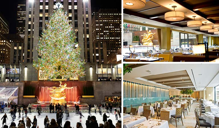 Holiday Dining at Rockefeller Center, New York City